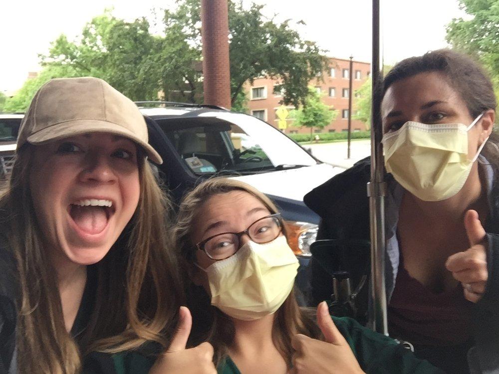 Peace out hospital!