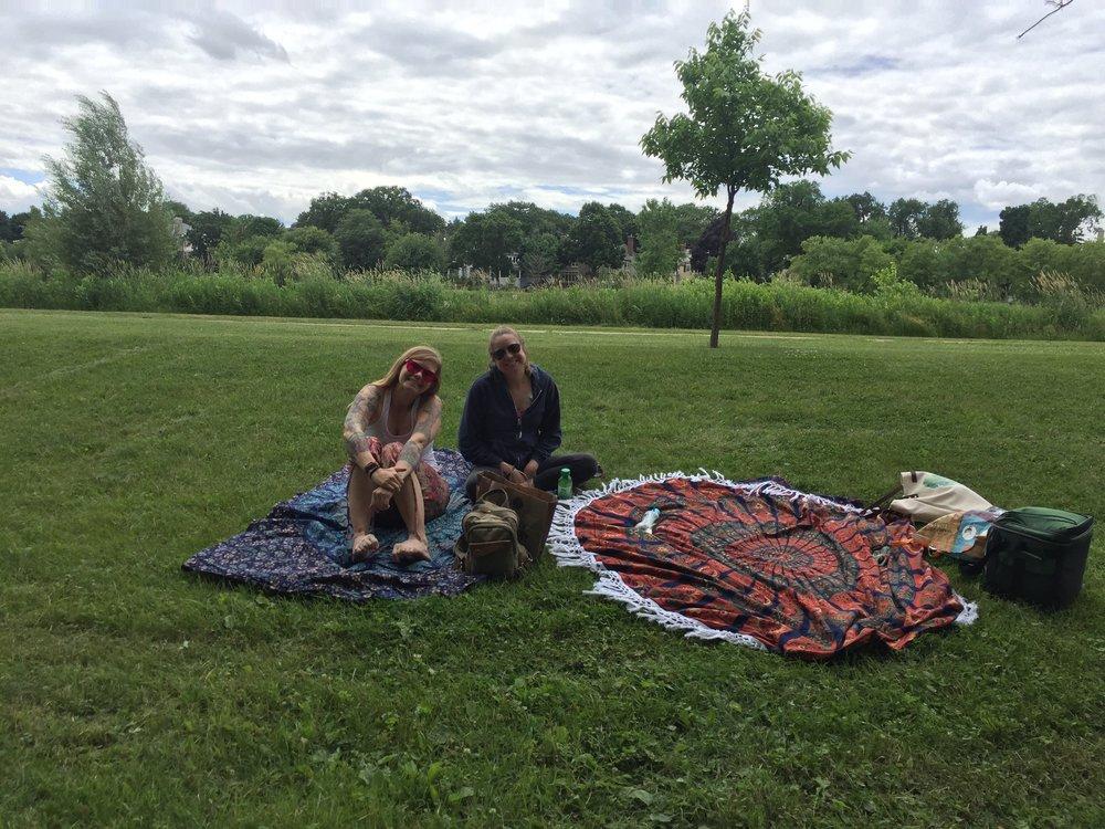Lakeside picnics