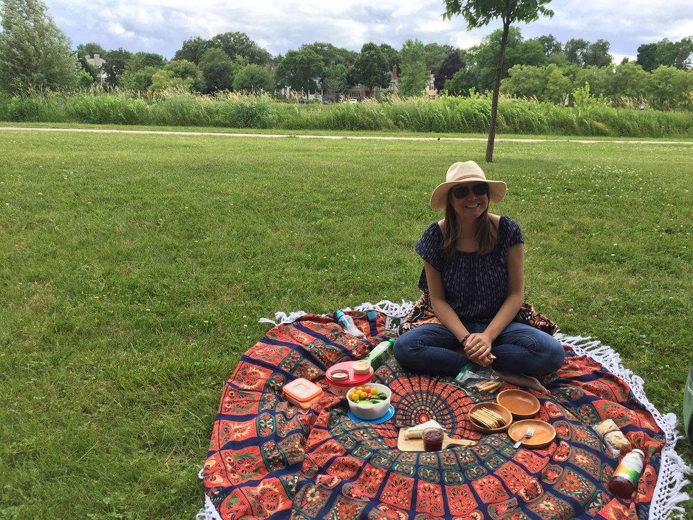 more lakeside picnics
