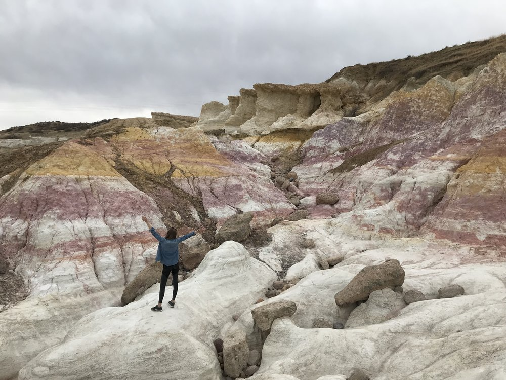 Welcome to Mars. Paint Mines in Colorado.