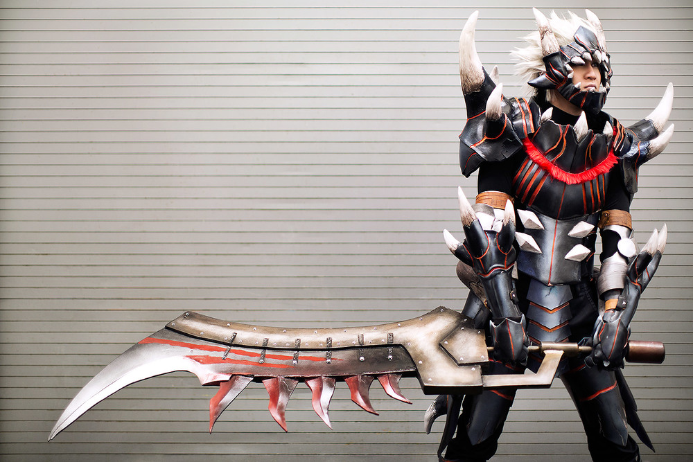 "Akantor Armor, ""Monster Hunter"""