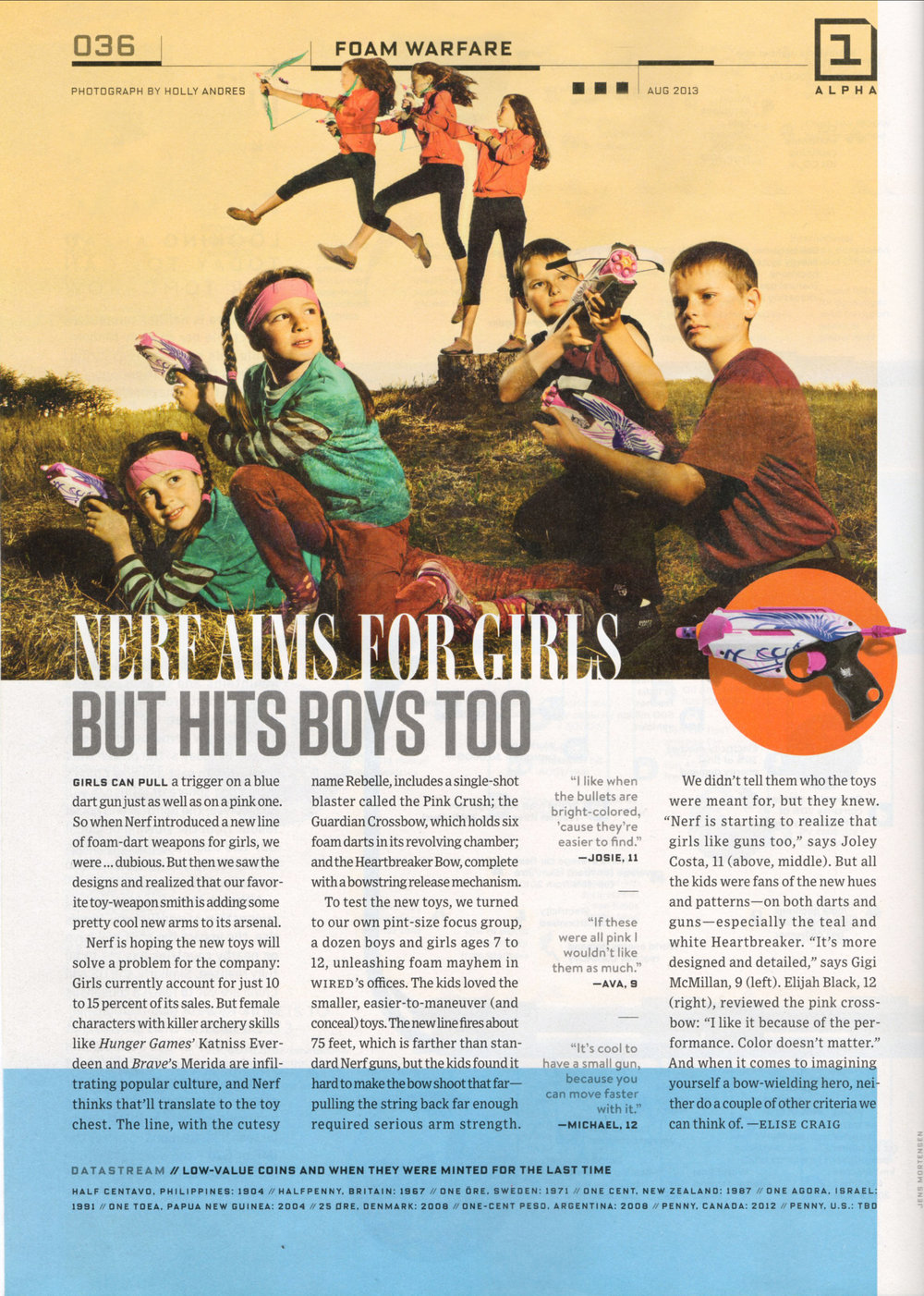 WIRED | Nerf for Girls — Holly Andres