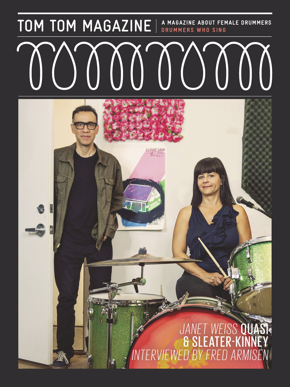 Tom Tom Magazine Fred Armisen & Janet Weiss
