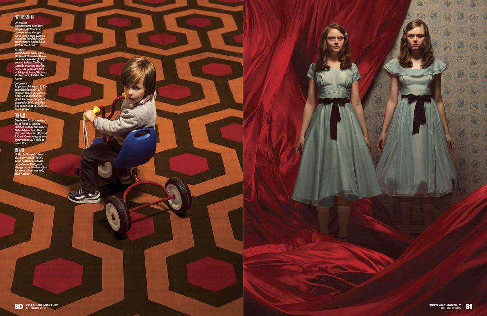 Portland Monthly Cabin Fever: The Shining