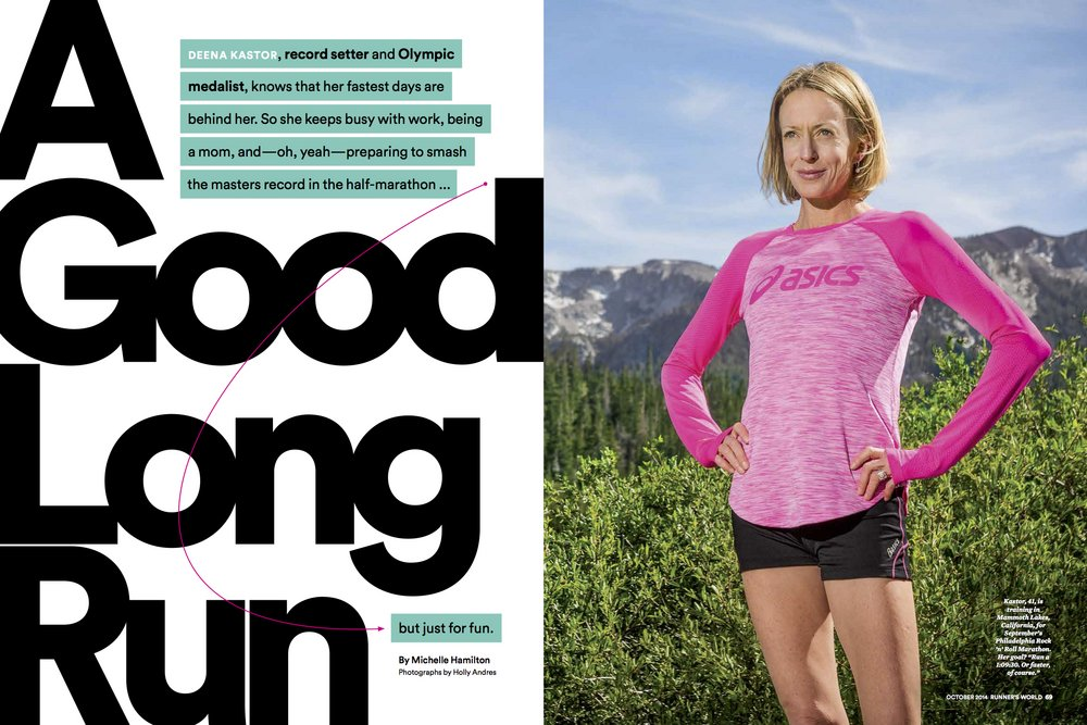 Runners World    Deena Kaster