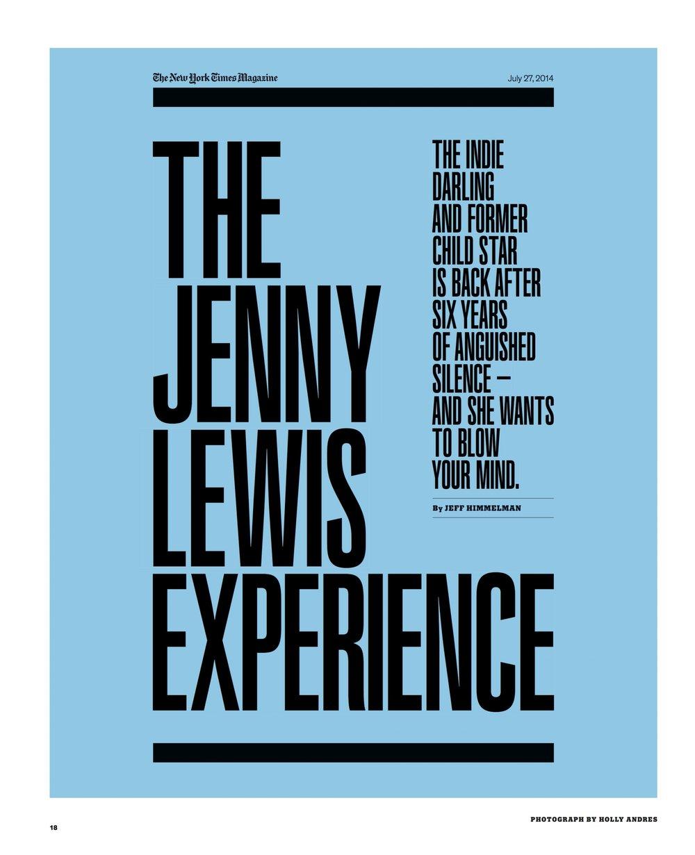 NYT Magazine Jenny Lewis