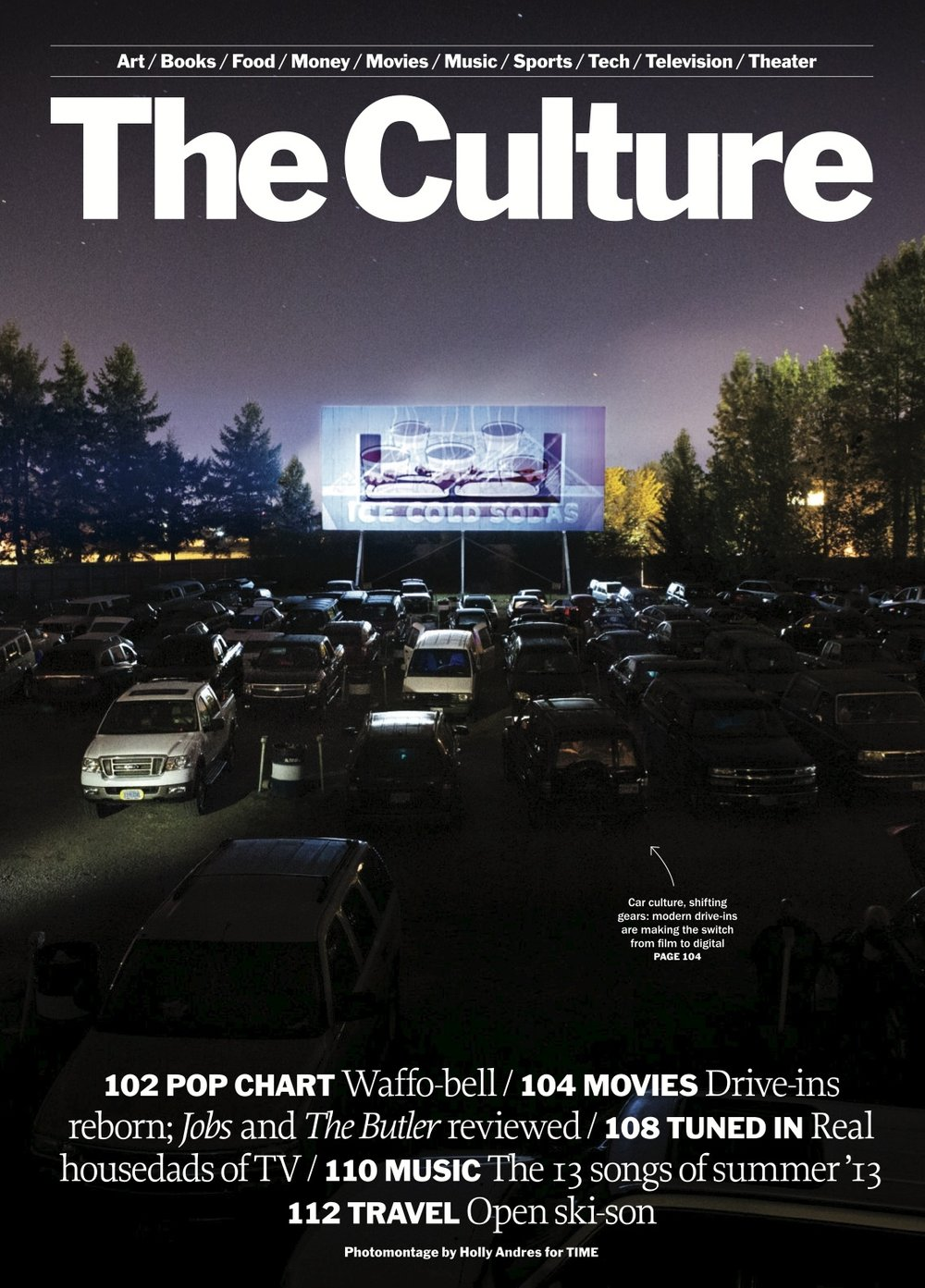 TIME Magazine   Drive-In Revival