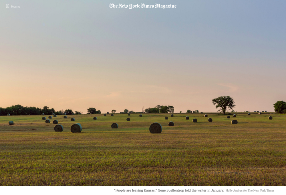 NYT Magazine    The Kansas Experiment