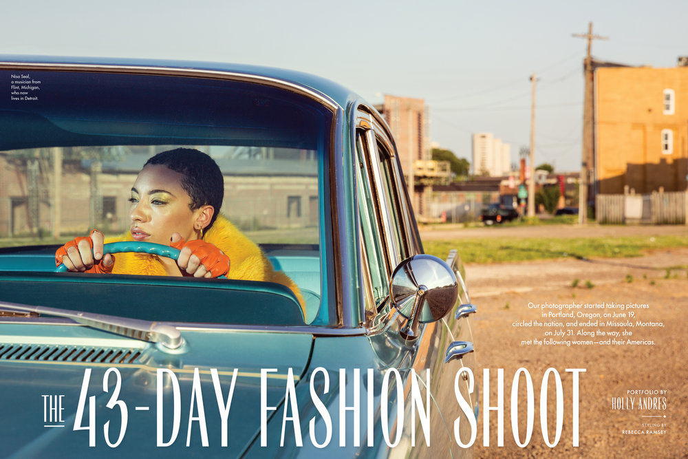New York Magazine 43-Day Fashion Shoot
