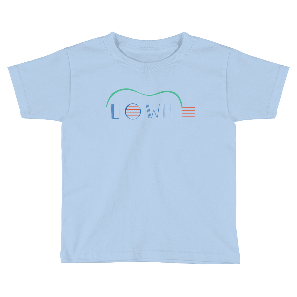 UOWH T-Shirt (Kid) - Kid size shirt for young fans of the Ukulele Orchestra of the Wester Hemisphere (a.k.a. UOWH). Unisex, $24, available in Navy, Baby Blue, or White.