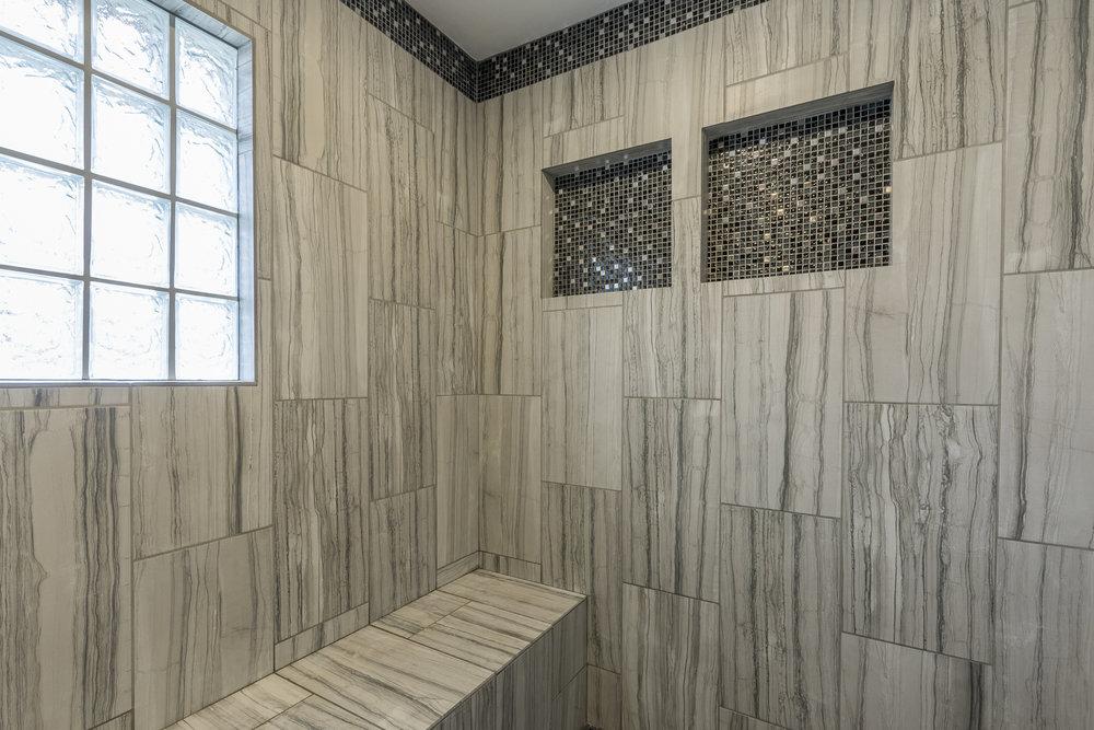Master Bath After - Detail