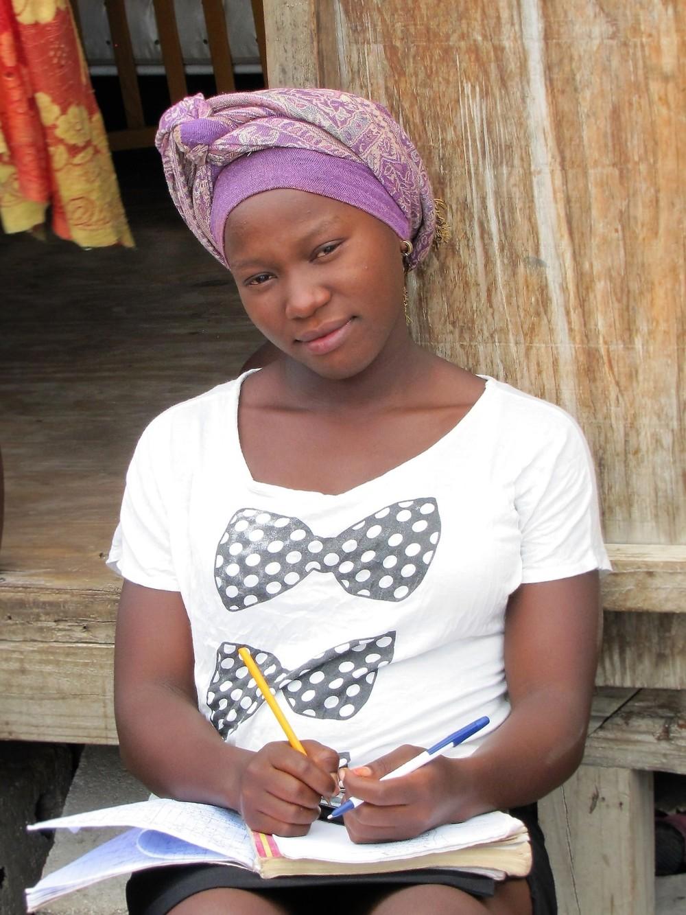 Ketia, student and Avanse Ansanm participant