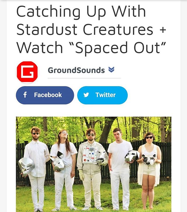 The hits keep on coming. Thanks to @groundsounds for taking the time to write such nice things about us and our friends.  Come hear us for yourself in-person  this Friday night 5/11 at @thefootlightbar  around 10:00pm 🚀