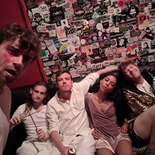 What an awesome night! Thanks to everyone who came out to @knittingfactorybk, also shoutout to @grayhuntermusic,  @thevaluesband, and @pinclouds! . . . . #knittingfactory #brooklynmusic #dontdodrugs