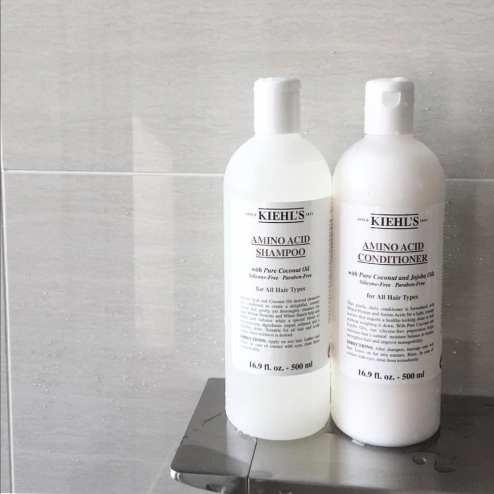 Five Favorites Kiehls Products B Currently In Amino Acid Conditioner Shampoo 7 55 Each