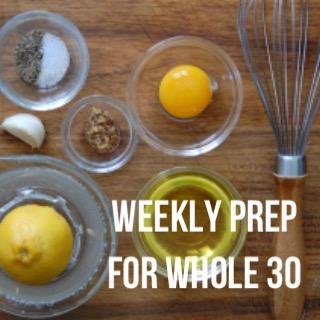 weeklyprepforwhole30