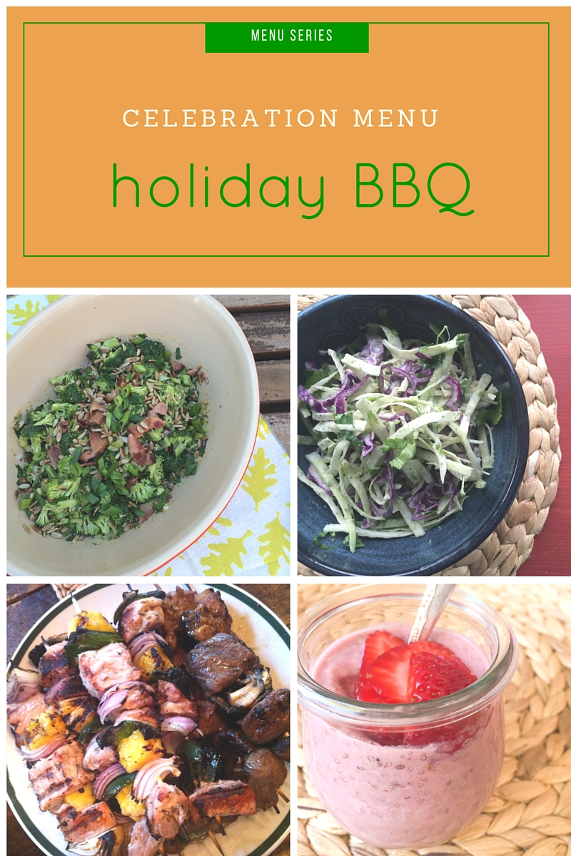 holiday BBQ celebration menu