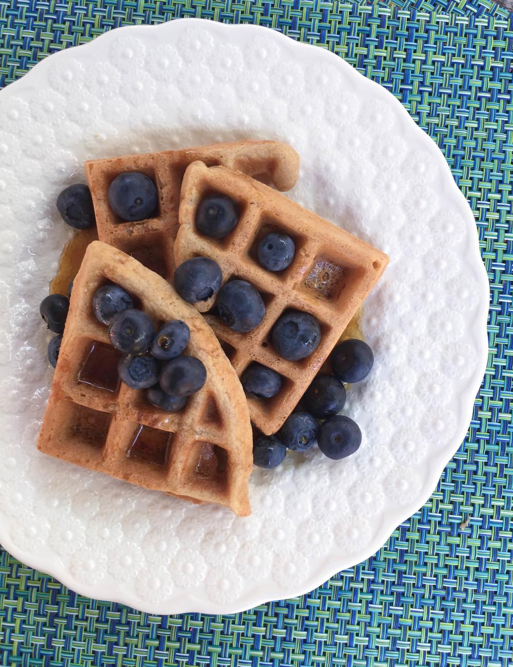 paleo-cassava-flour-waffle