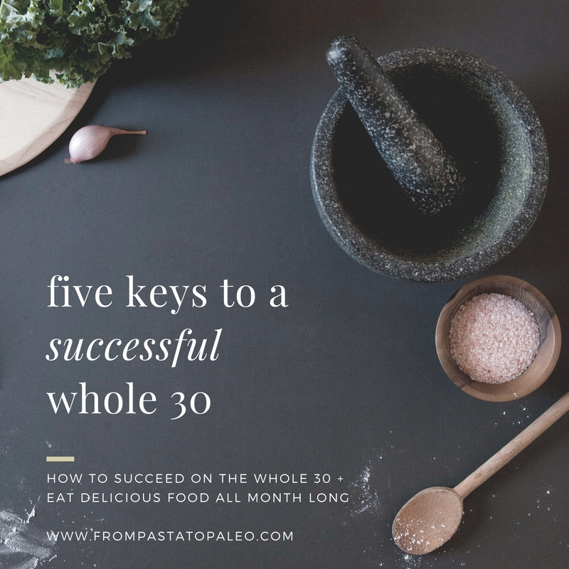 five-keys-to-a-successful-whole30