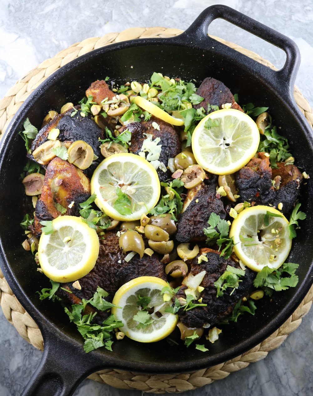Moroccan Chicken from The Whole 30 Cookbook