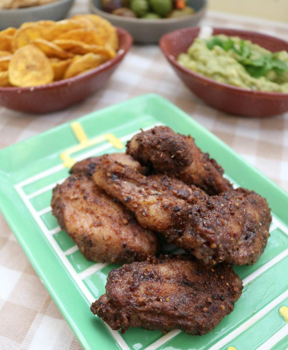 Paleo Jerk Chicken WIngs