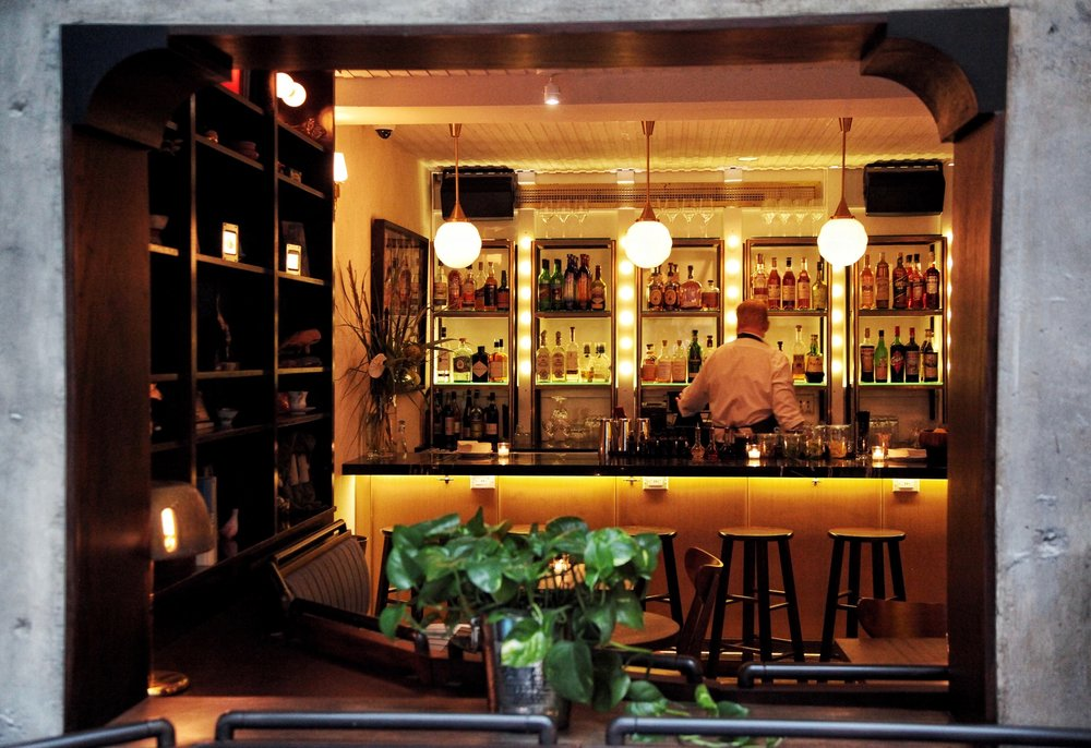 out east interior bar