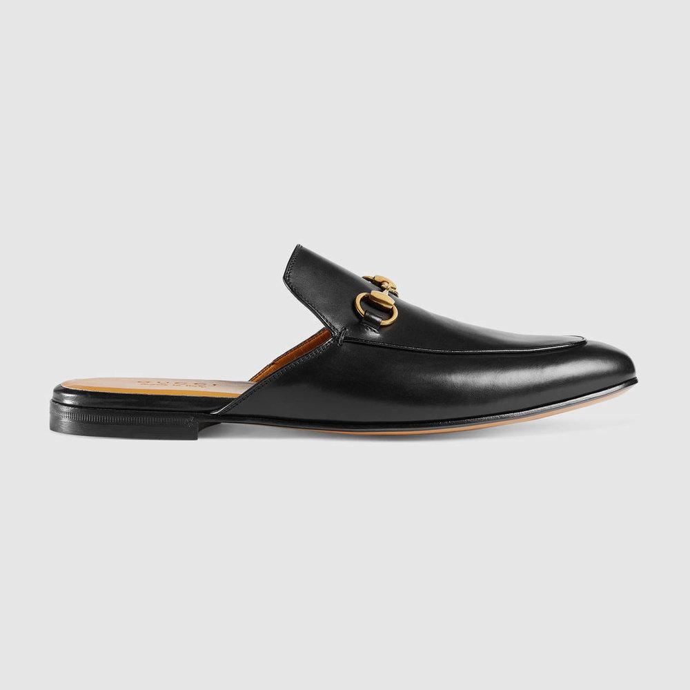 Leather Horsebit slipper