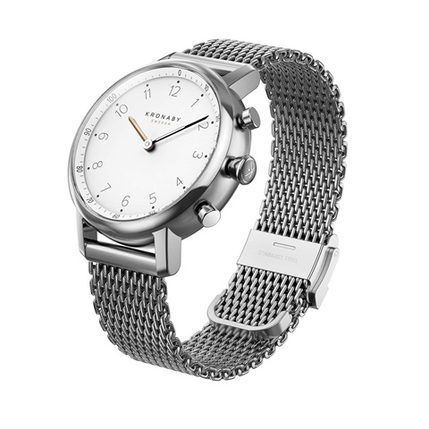 kronaby nord 38 mm, Stainless steel 316L