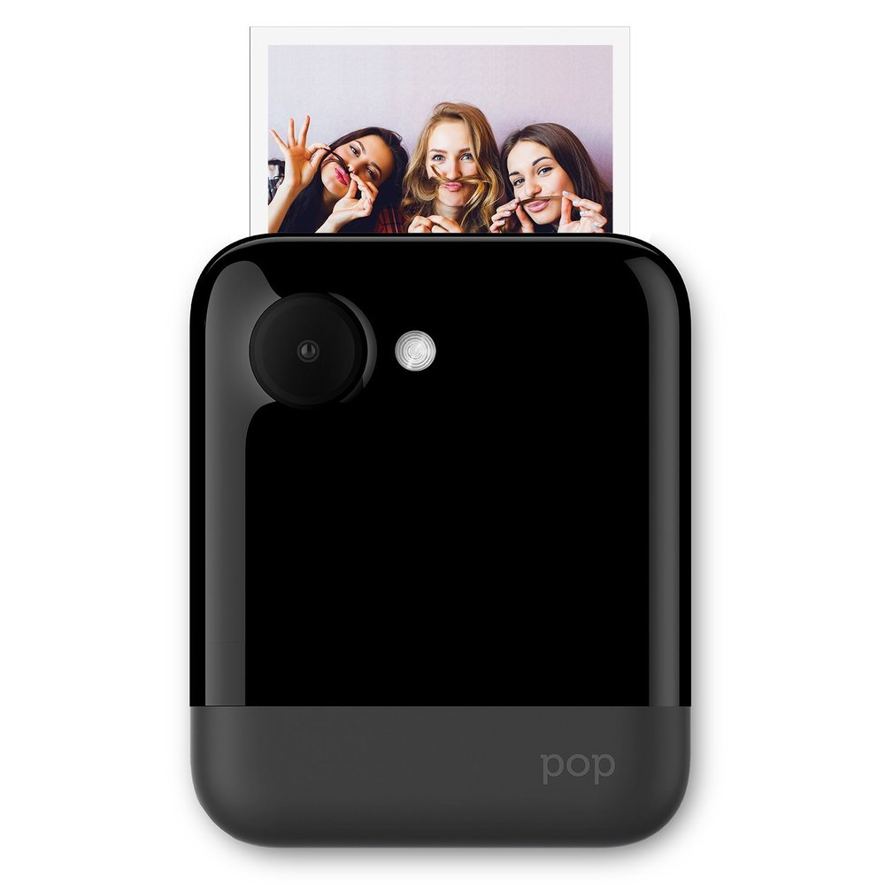 "Polaroid POP 3x4"" Instant Print Digital Camera with ZINK Zero Ink Printing Technology - Black"