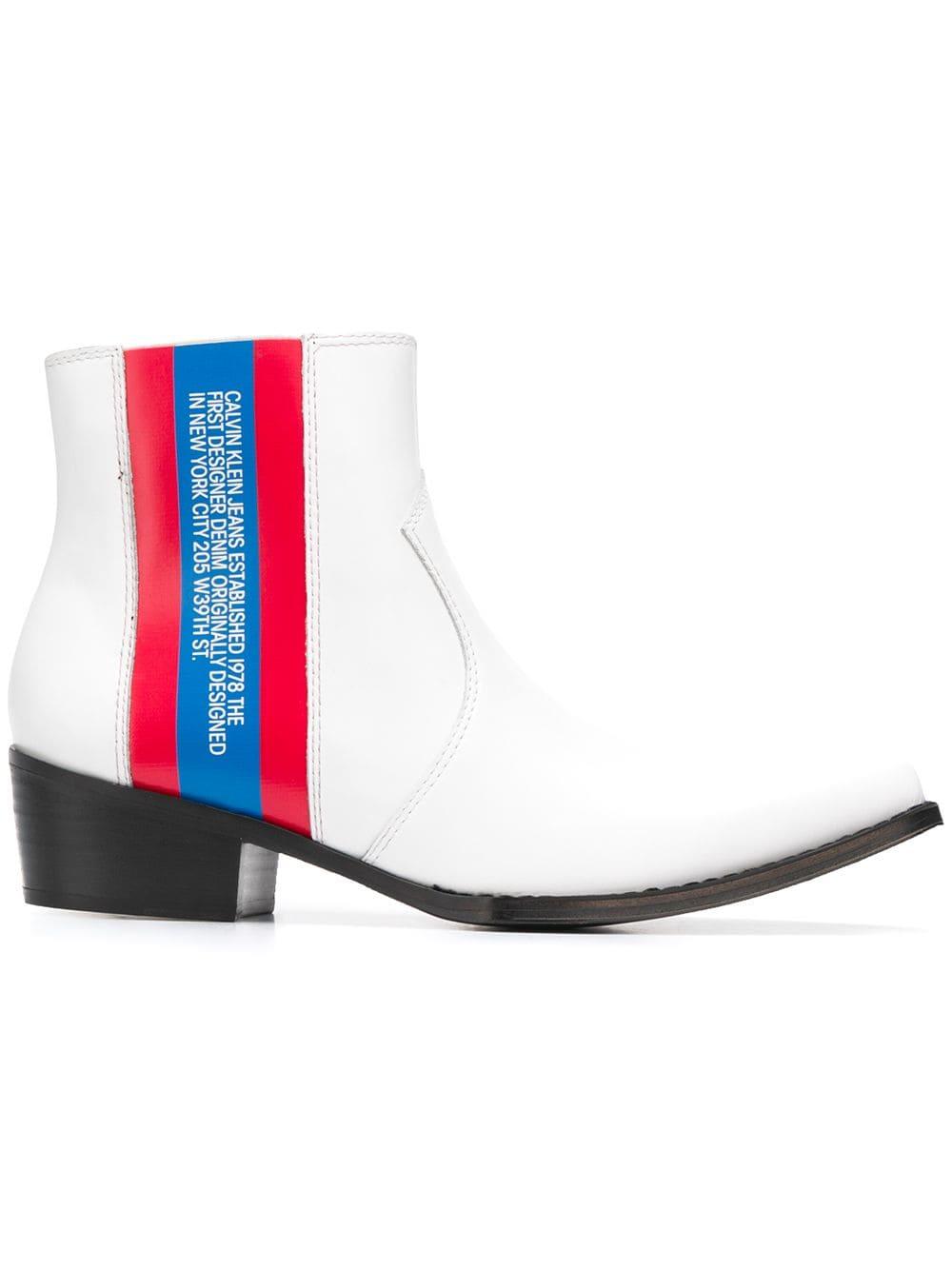 Calvin Klein Jeans Logo Boot