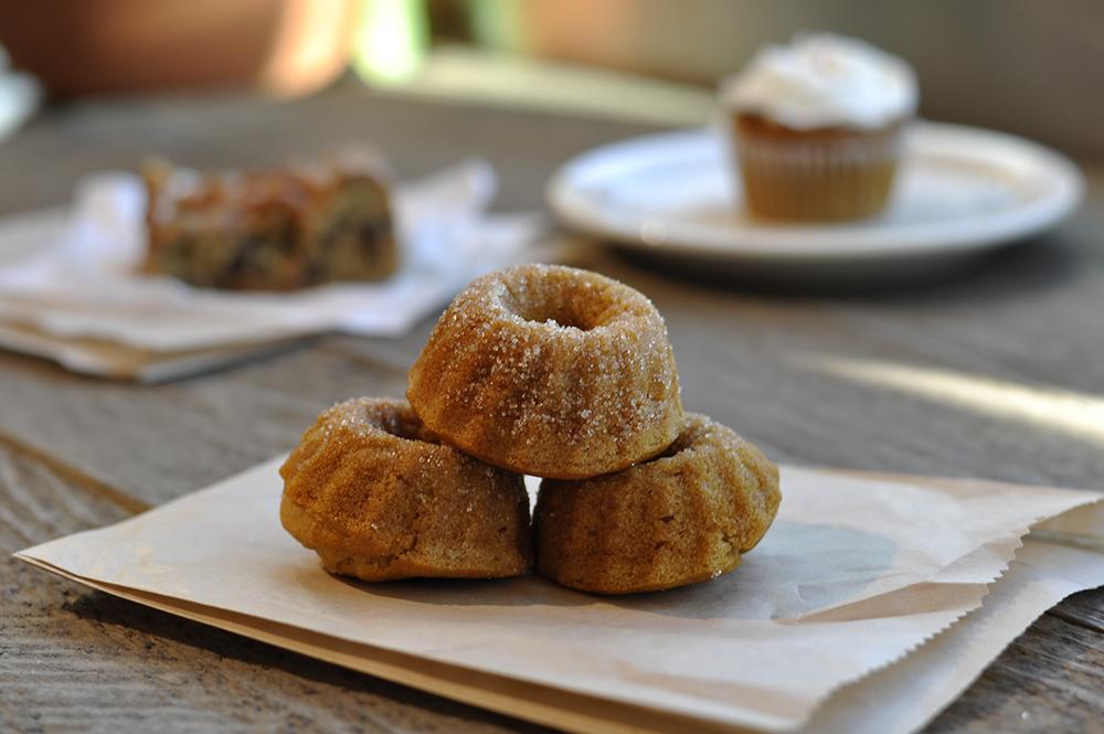 Vanilla donuts - yeast free, vegan, gluten free, dairy free, nut free