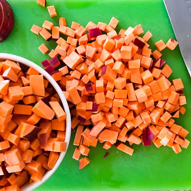 I like red garnet sweet potatoes
