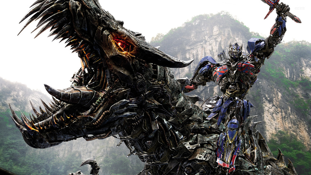 Not quite how you remember Optimus Prime and the Dinobots, right? That's exactly the point.