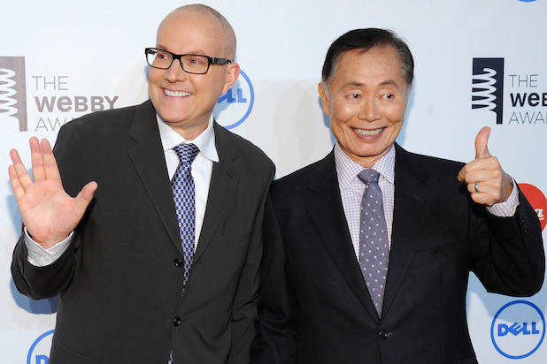 George Takei (right) and his husband Brad Altman (left) have been together for 29 years.