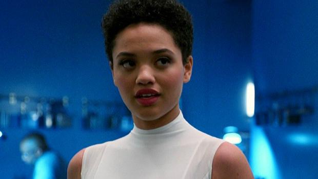 The Iris West of the DCEU, Kiersey Clemons. She previously worked with The Flash director Rick Famuyiwa on the movie Dope.