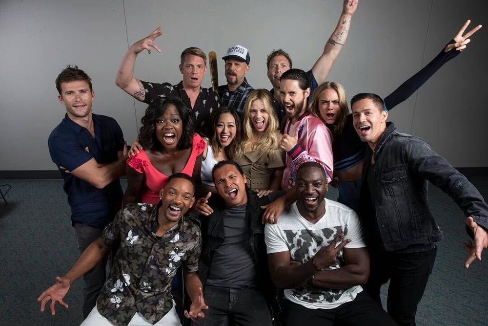 The diversified cast of Suicide Squad in all its glory. If you don't think this is an accurate picture of today's audience as we know it, then you aren't paying attention. At all.