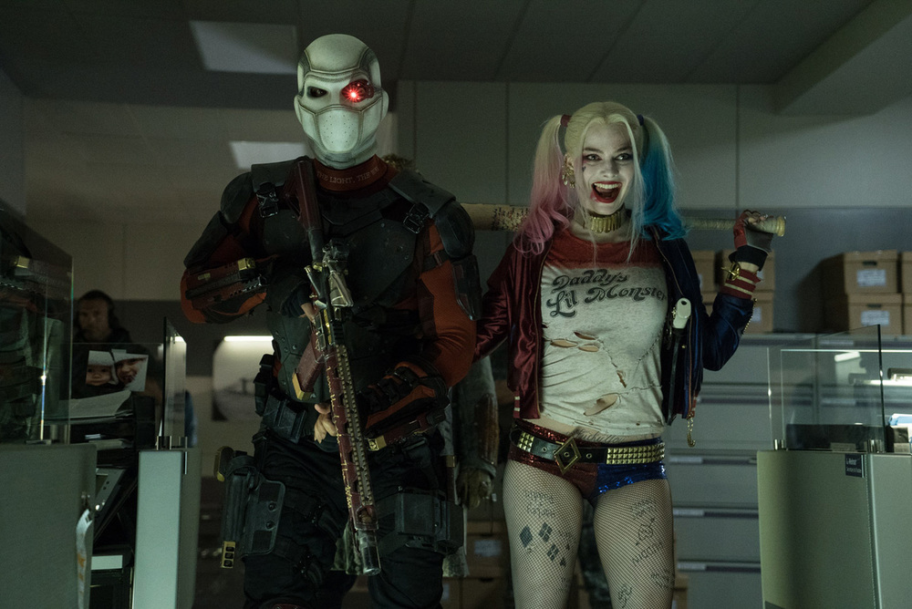 The two best performances in the movie, without question. Will Smith at his best as Deadshot and Margot Robbie giving life to Harley Quinn.