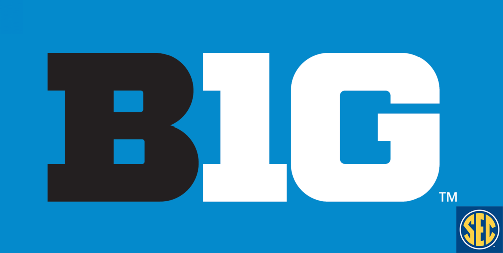 The Big Ten went 12-2 in Week 1 while the SEC went 7-6 with a couple of losses from Top 25 ranked teams.