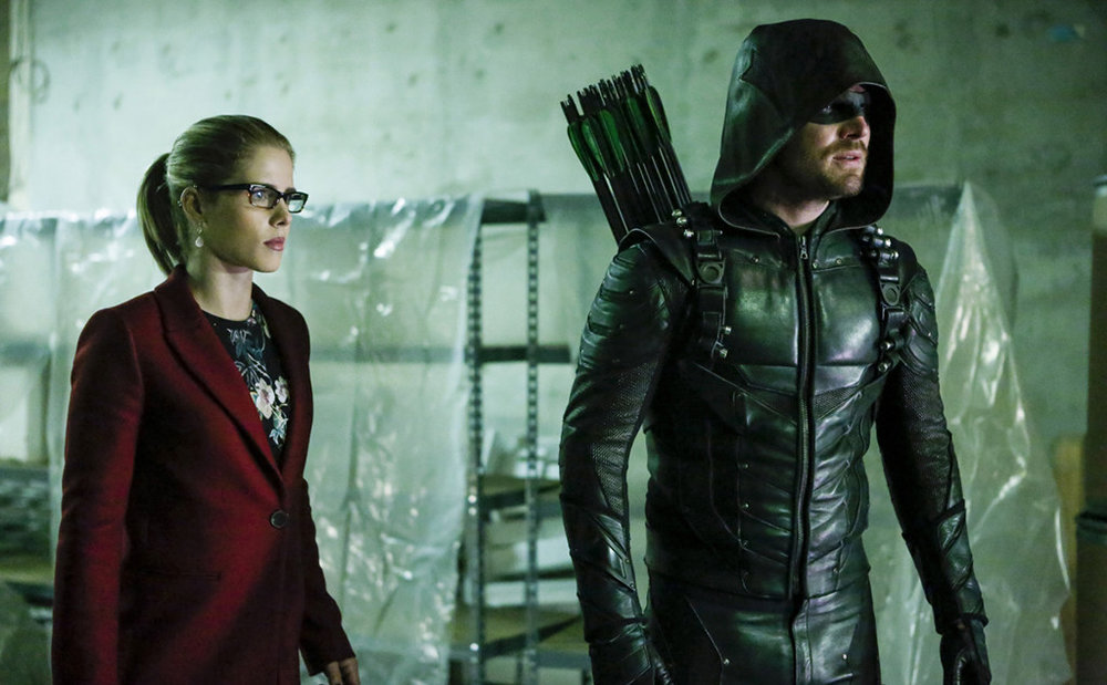 """Olicity"" is many things, but the death of Arrow isn't one of them. Otherwise, it wouldn't be getting a sixth season."