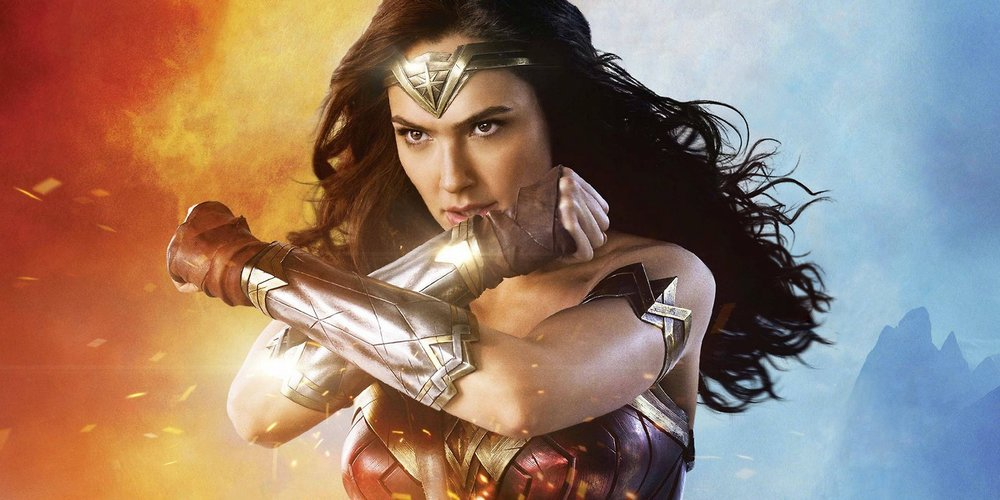 This is an image of Wonder Woman as Gal Gadot. Yes, you read that right.