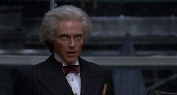 My introduction to the legend known as Christopher Walken. Yep, he still had the same unique delivery he has today.