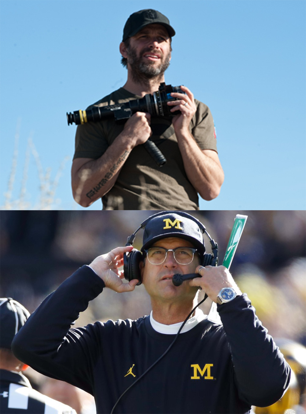 Both Zack Snyder and Jim Harbaugh are accomplished and successful professionals at their jobs. They don't want or need your suggestions on how to do it. Period.