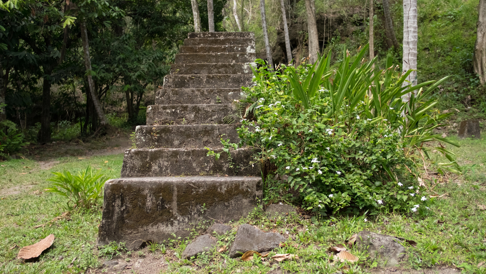 """Stairway to Heaven"" and also the location of a scene in the reality television show, ""The Bachelor""."