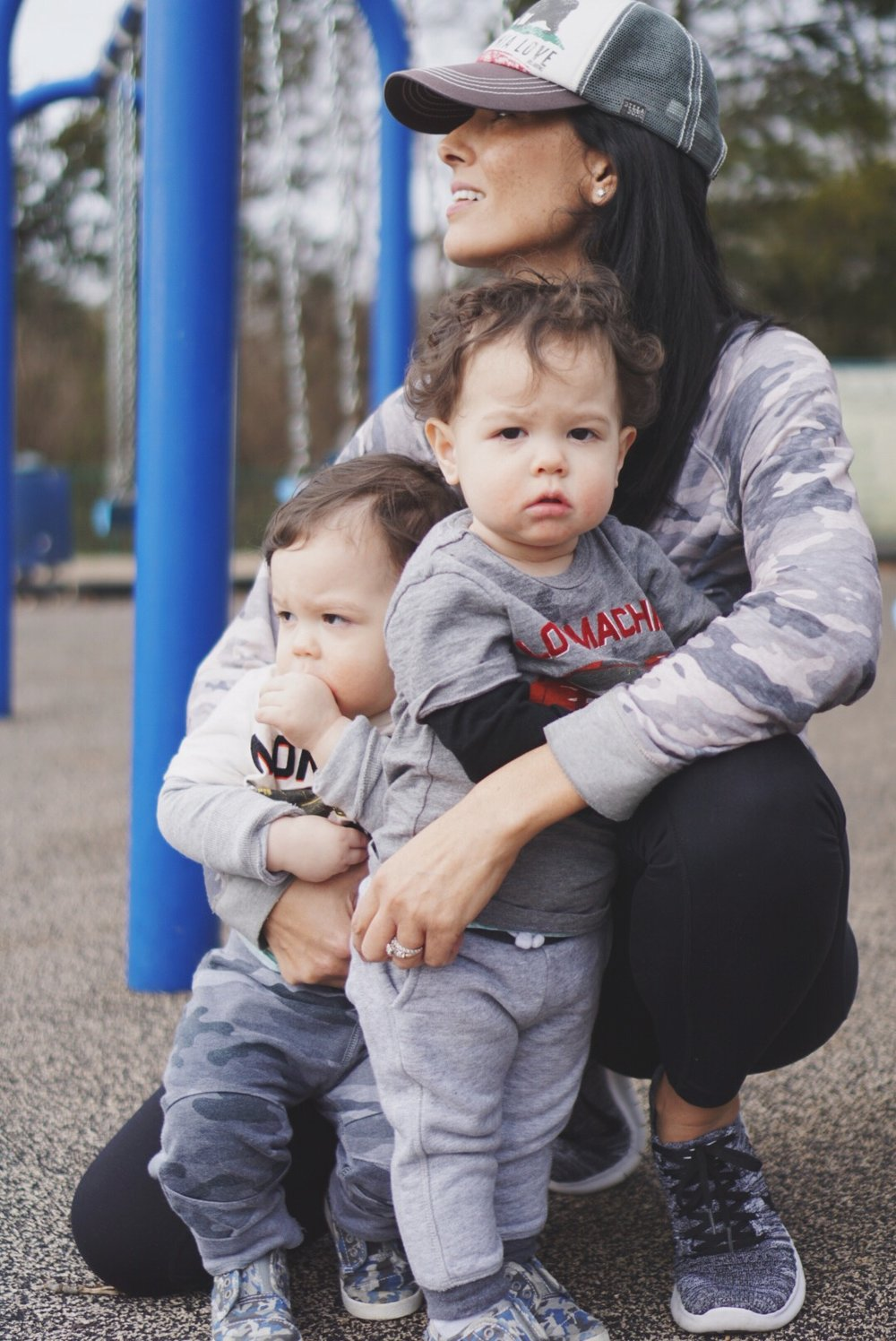 sneakers  |  leggings  | camo  jumper  similar | toddler camo  shoes  similar| photo by Nicolle Clawson |