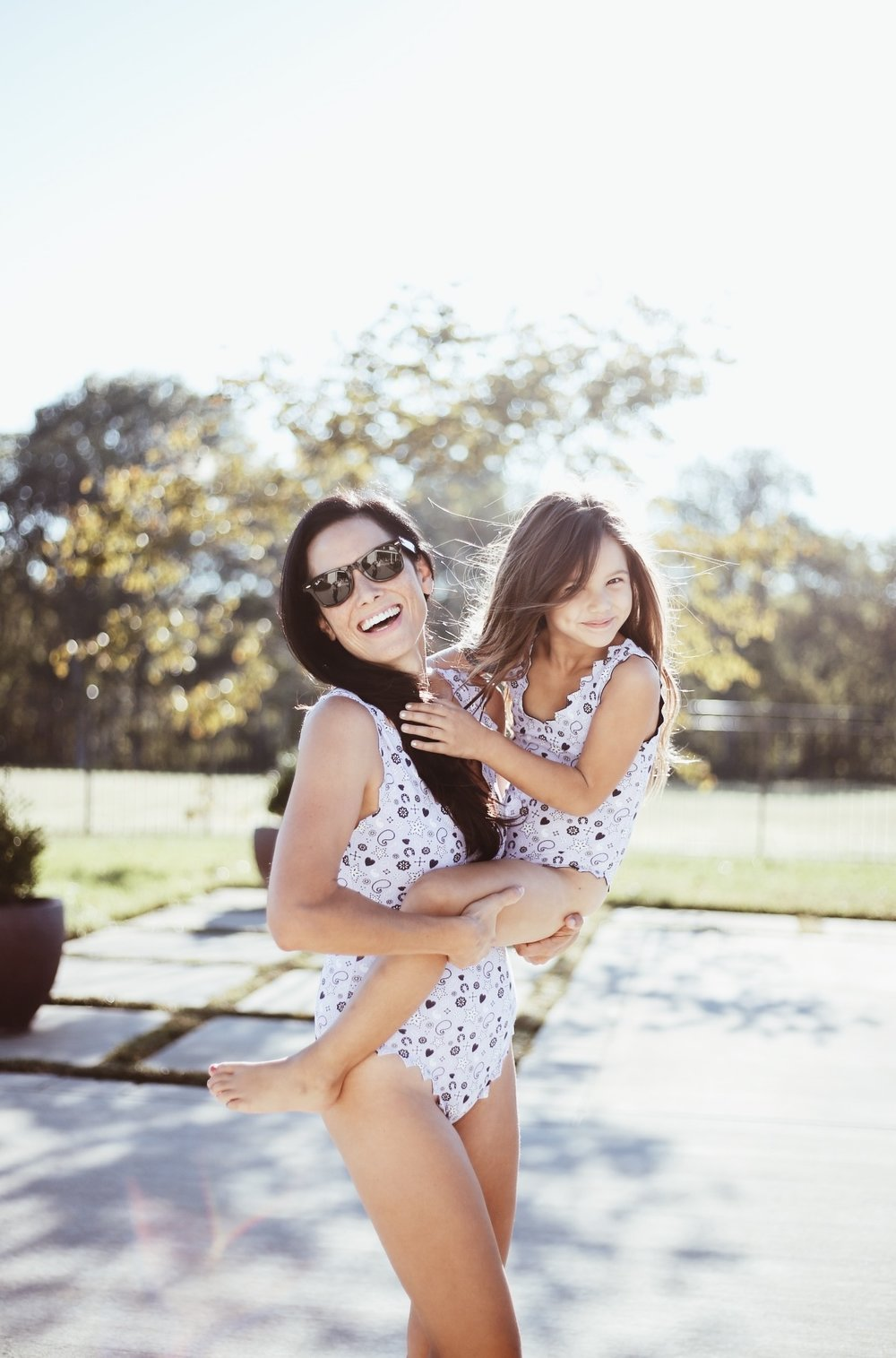 |  one piece mama  50% off |  one piece little  50% off |  sunnies  | image by sydney clawson |