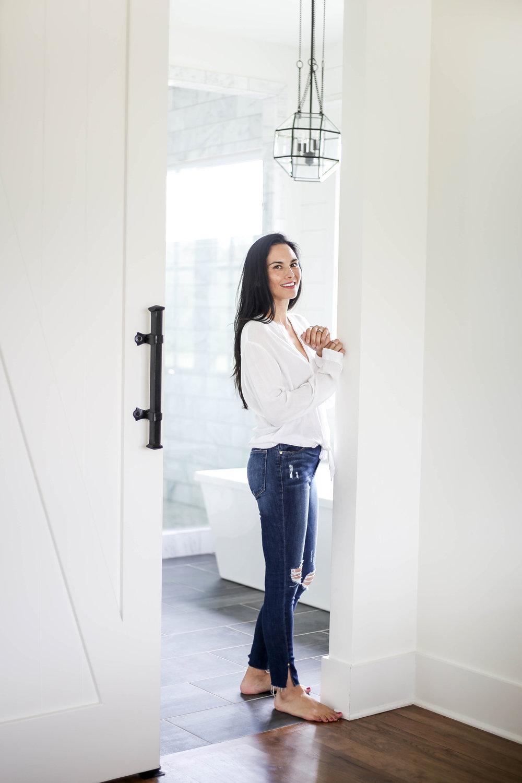 |  denim sale  |  white blouse similar  | image by sydney clawson |