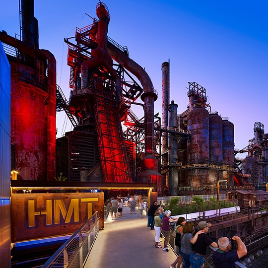 HOOVER-MASON TRESTLE AT STEELSTACKS