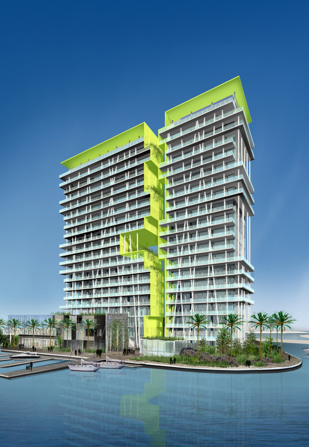 Torre Verde de Cancun