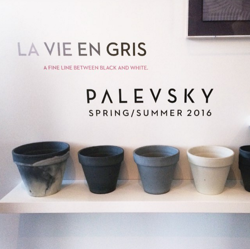 Palevsky    La Vie En Gris   Design Showcase  Brentwood, CA  May 7, 2016