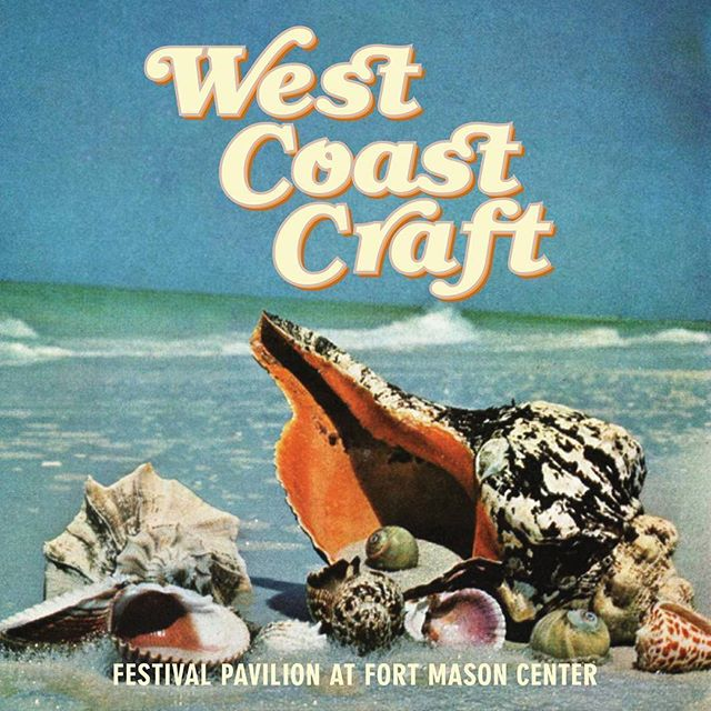 West Coast Craft   Summer Design Show  Fort Mason Center San Fransisco, CA  June 9-10 2018